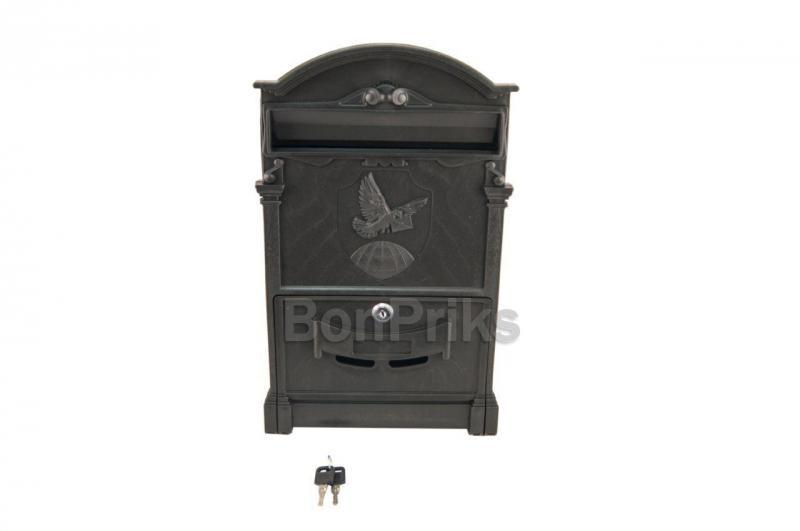 Почтовый ящик Vita - голубь (черный)