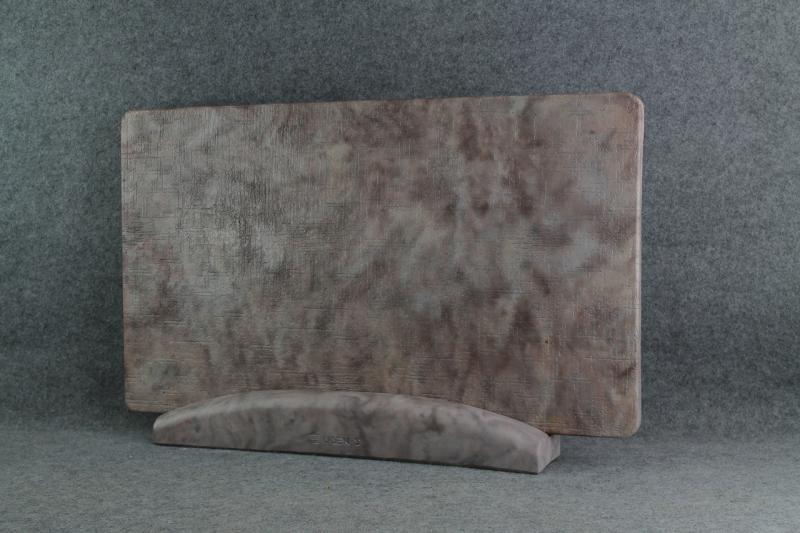Керамогранитный обогреватель UDEN-S Холст ореховый (ножка-планка)