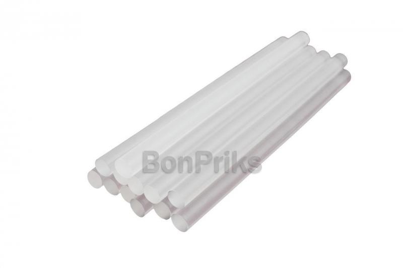Клеевые стержни Intertool - 11,2 х 200 мм, прозрачные