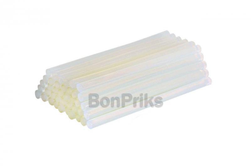 Клеевые стержни Mastertool - 11,2 х 200 мм, прозрачные (1 кг)