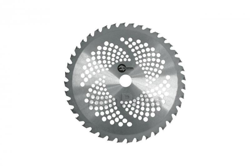 Диск для триммера Intertool - 254 х 40T х 25,4 мм с напайками