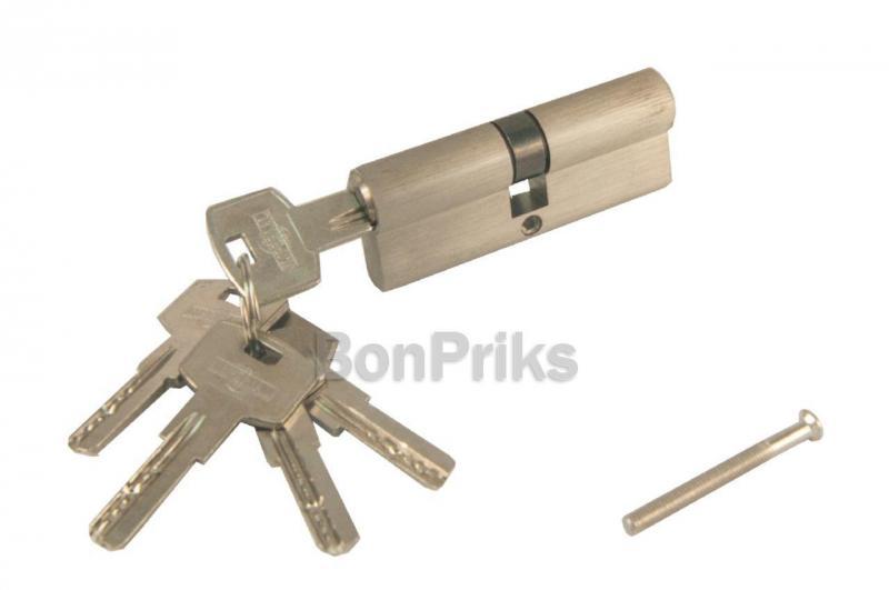 Цилиндр лазерный Imperial - IC 80 мм, 40/40 к/к-металл SN (цинк)