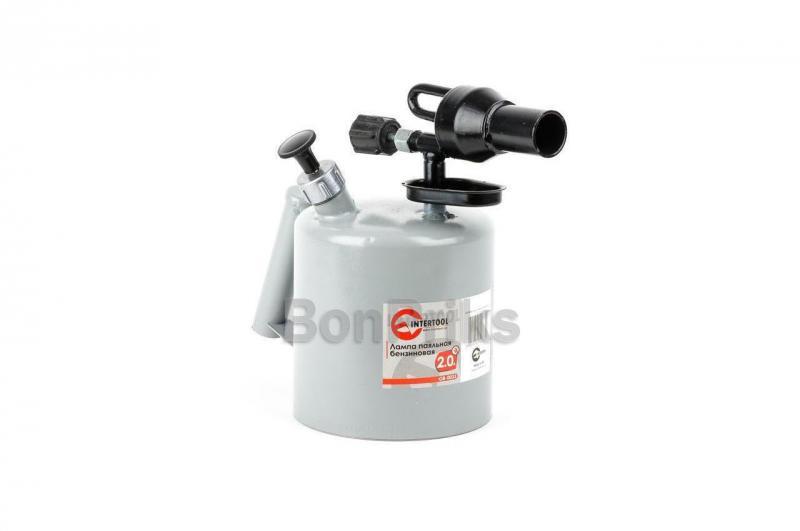 Паяльная лампа бензиновая Intertool - 2 л.
