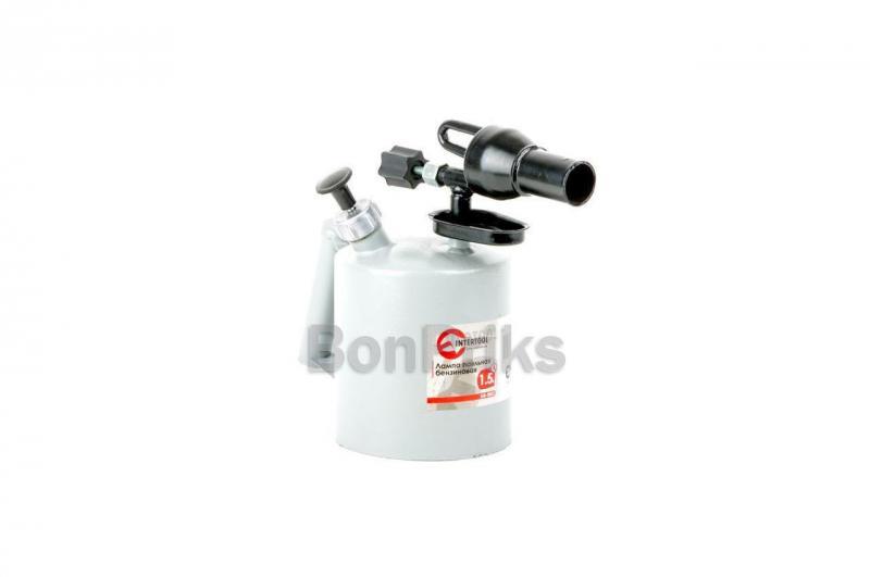 Паяльная лампа бензиновая Intertool - 1,5 л.