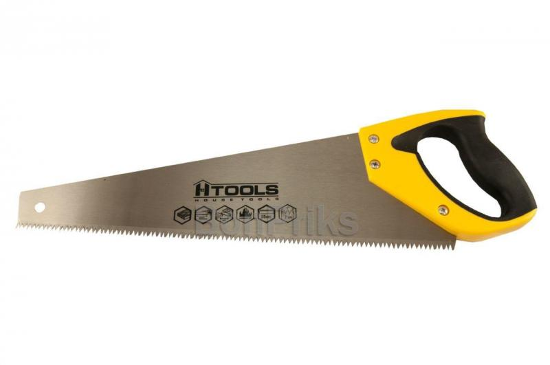 """Ножовка по дереву Housetools - 400 мм x 7T x 1"""" x 3D"""