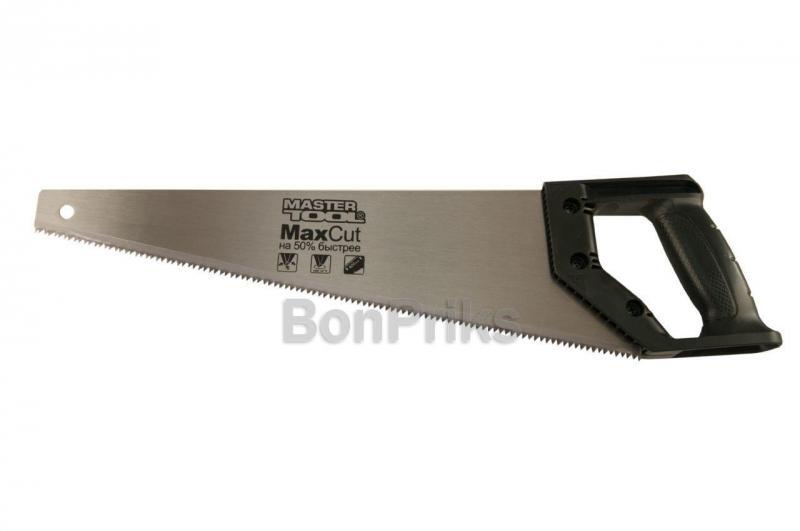 """Ножовка по дереву Mastertool - 400 мм x 7T x 1"""" x 3D, черная ручка"""