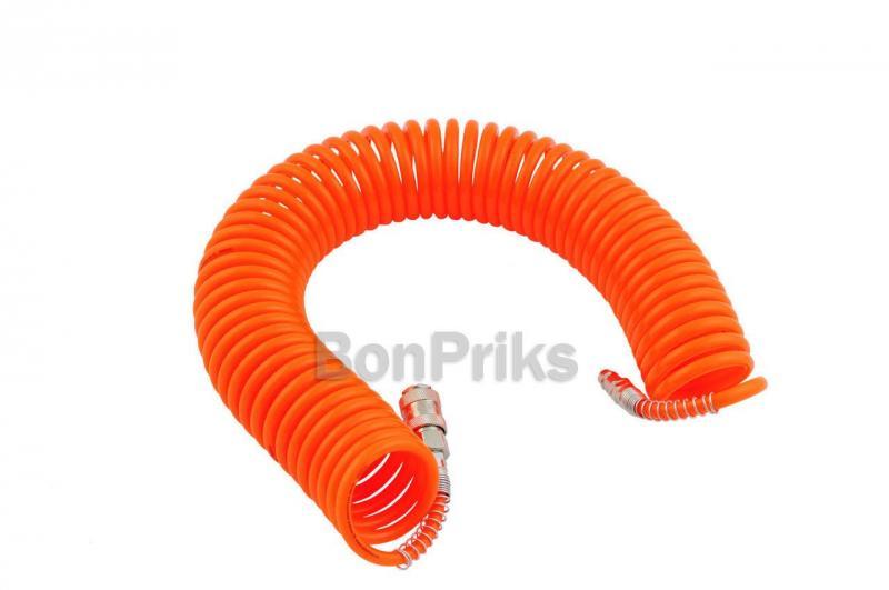 Шланг спиральный Intertool - 20 м, пластиковый