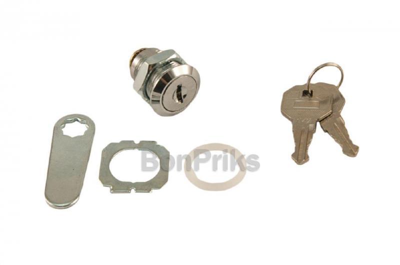 Замок почтовый FZB - металлический ключ