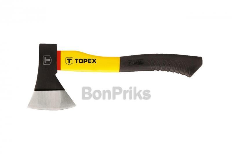 Топор Topex - 1000 г, ручка стекловолокно