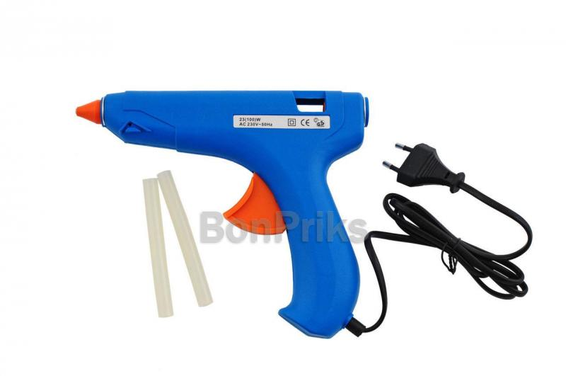 Пистолет клеевой Miol - 100 Вт