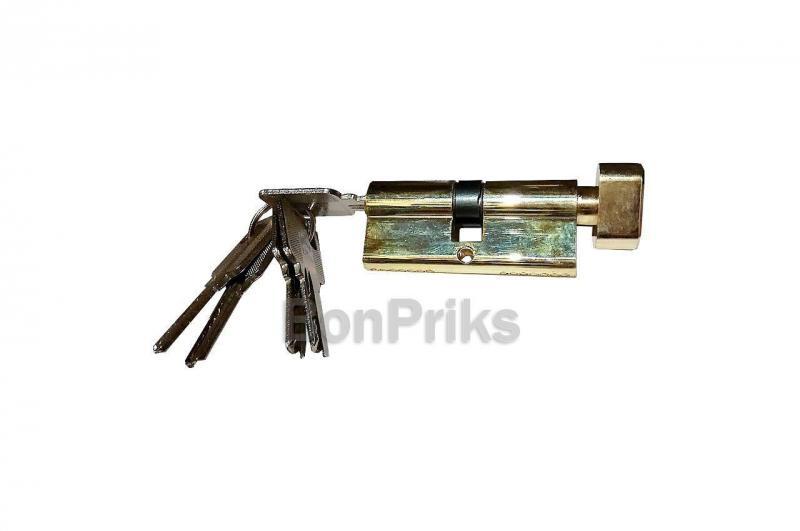 Цилиндр лазерный FZB - 60 мм 30/30 к/п PB (цинк)