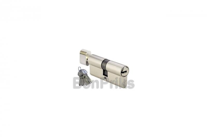 Цилиндр лазерный FZB - 70 мм 35/35 к/п Sofia SN (латунь)