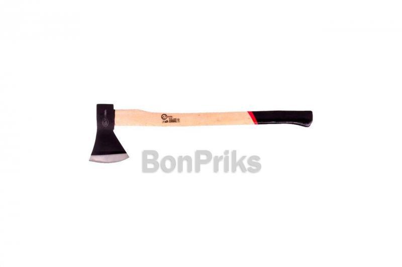 Топор Intertool - 1200 г, длинная ручка пекан
