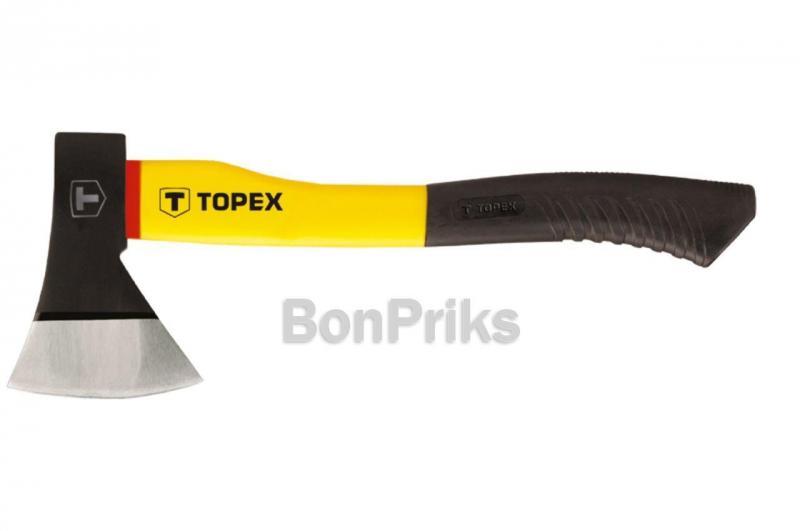 Топор Topex - 800 г, ручка стекловолокно