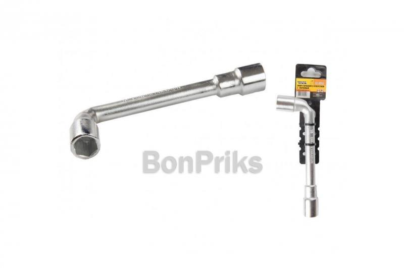 Ключ торцевой с отверстием L-образный Mastertool - 19 мм