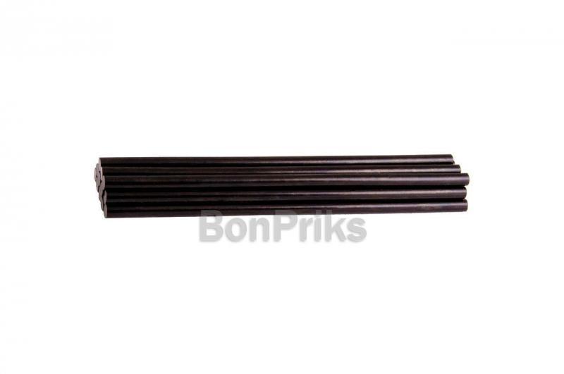 Клеевые стержни Mastertool - 7,2 x 200 мм, черные (12 шт.)
