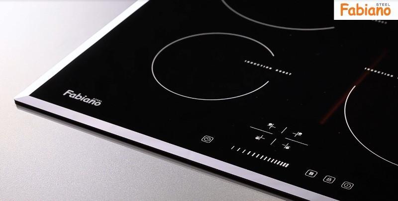 Индукционная  поверхность Fabiano FHI 19-44 VTC  Black Glass