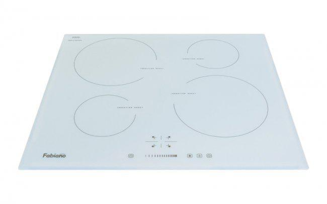 Встраиваемая индукционная  поверхность Fabiano FHI 19-44 VTC White Glass