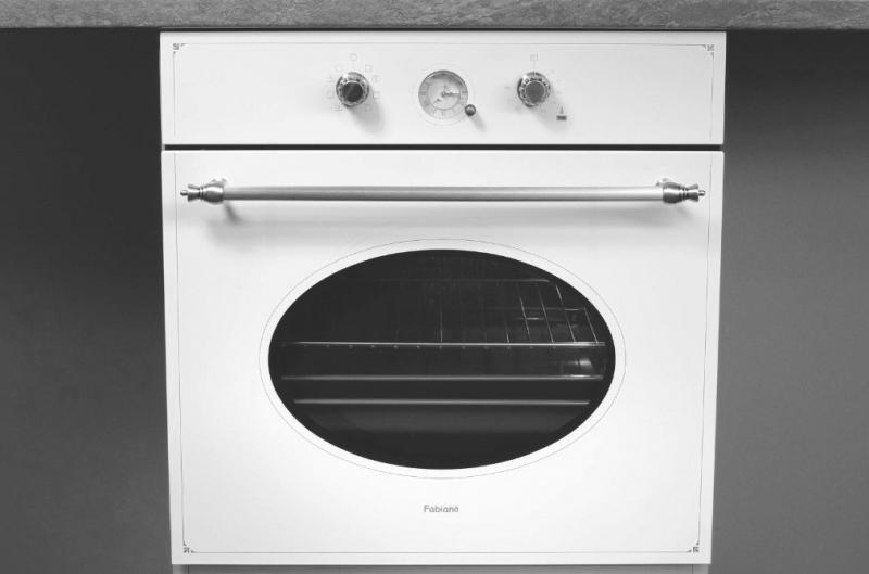 Духовой шкаф электрический Fabiano  FBO-R 43 White-Antique