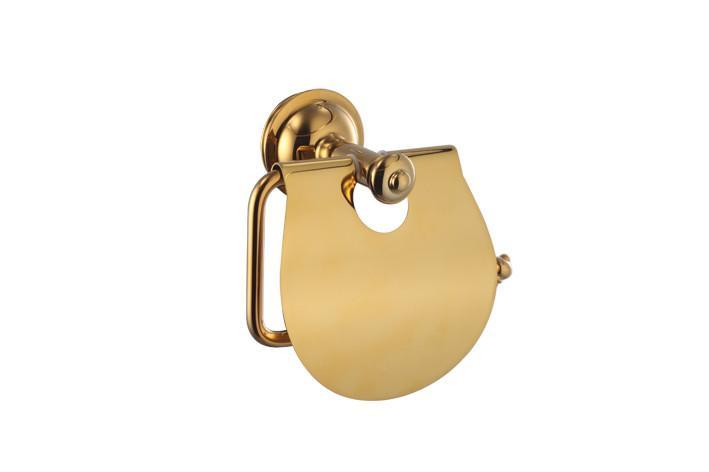 Держатель для туалетной бумаги Welle D50062AS золото