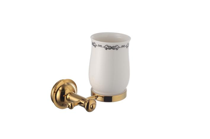 Стакан для зубных щеток Welle D50050AS золото