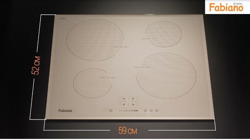 Индукционная  поверхность Fabiano FHI 19-44 VTC  Cream Glass