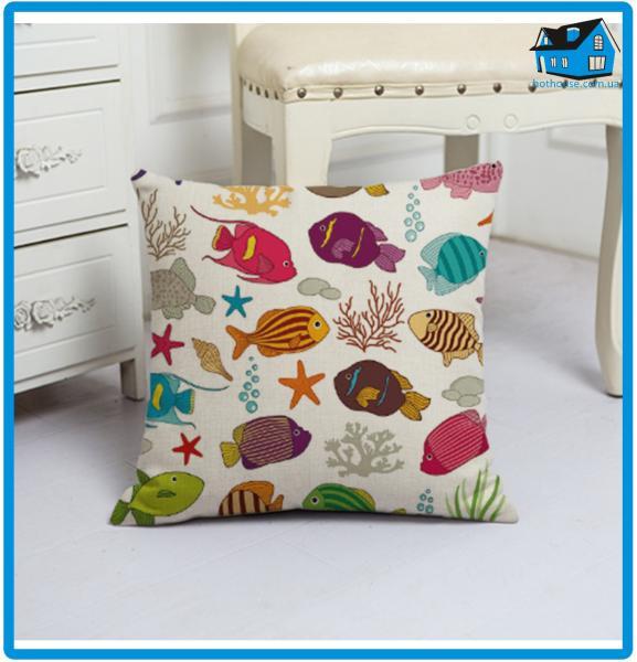 Подушка декоративная 45 х 45 см 48030