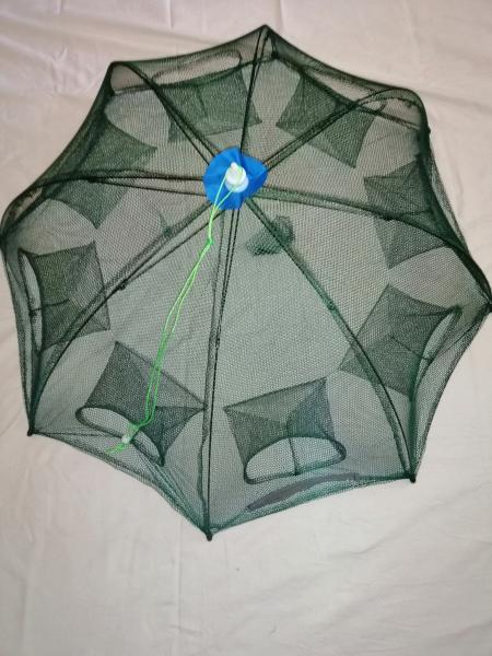 Раколовка Зонтик Диаметр 80 ( 8 входов )