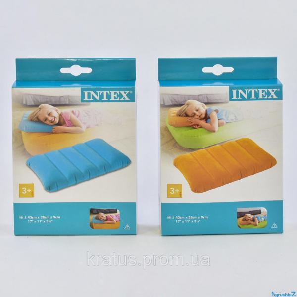68676 Надувная подушка кемпинговая Intex