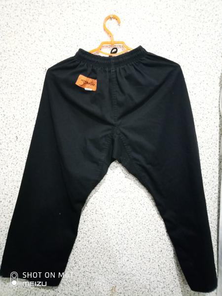 Штаны для единоборств черные 130-140