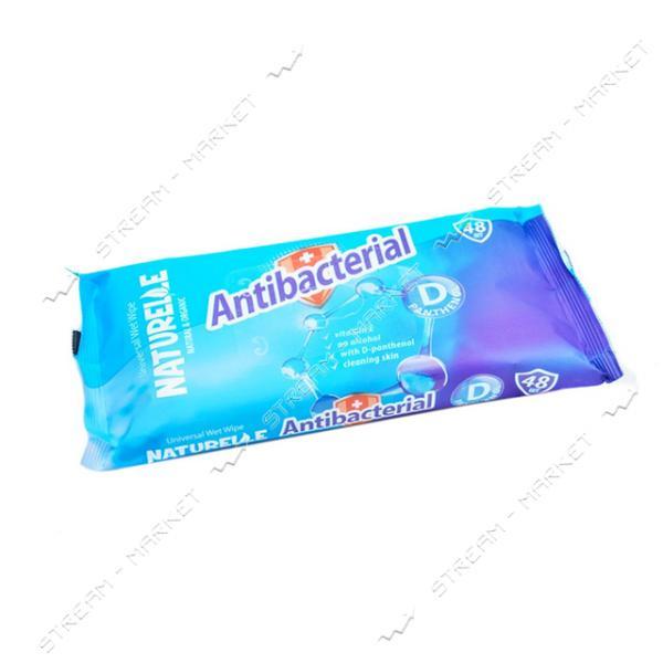 Салфетки влажные Naturelle Antibacterial D-Panthenol 48шт