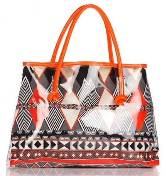 Большая пляжная сумка Argento 6013 One Size Оранжевый Argento 6013