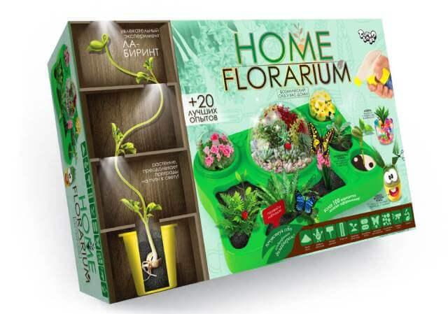 Набор для выращивания растений Home florarium Danko Toys