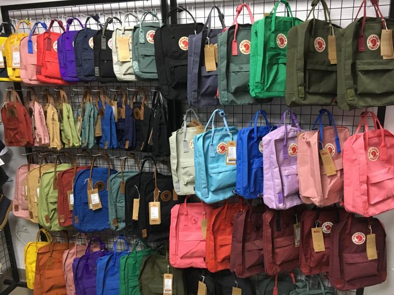 Рюкзак Kanken 17 літрів кольори, великій вибір. Канкен Fjallraven Kanken. Новою Поштою в інші міста