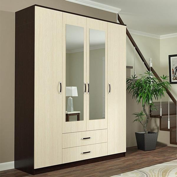 ДСВ мебель-Шкаф 4-х створчатый ШКР 1600.1 Ронда