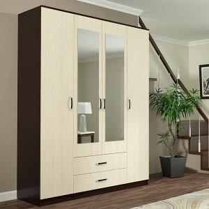 Фото  ДСВ мебель-Шкаф 4-х створчатый ШКР 1600.1 Ронда