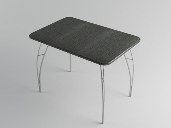 ДСВ мебель-Стол обеденный (Титан черный, Титан серый, Титан красный), МДФ