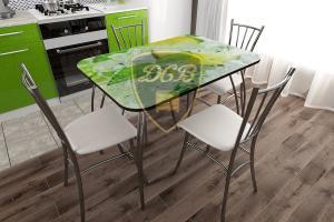 Фото  ДСВ мебель-Стол обеденный (в ассортименте), Стекло