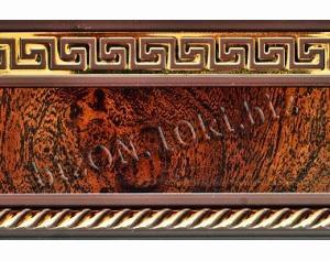 Бленда   Греция «Африканский Корень»,   Декоративная лента для потолочного карниза серии «КСМ», ширина = 7 см