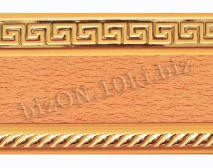 Бленда   Греция «Бук»,   Декоративная лента для потолочного карниза серии «КСМ», ширина = 7 см
