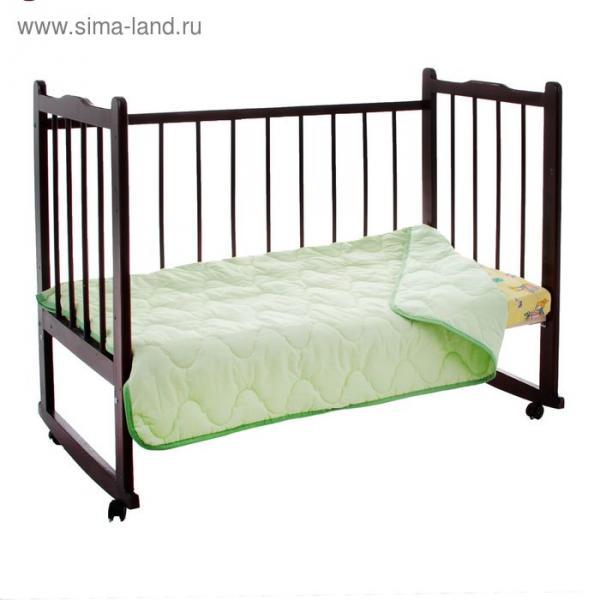 """Одеяло облегчённое Адамас """"Бамбук"""", размер 110х140 ± 5 см, 200гр/м2, чехол поликоттон"""