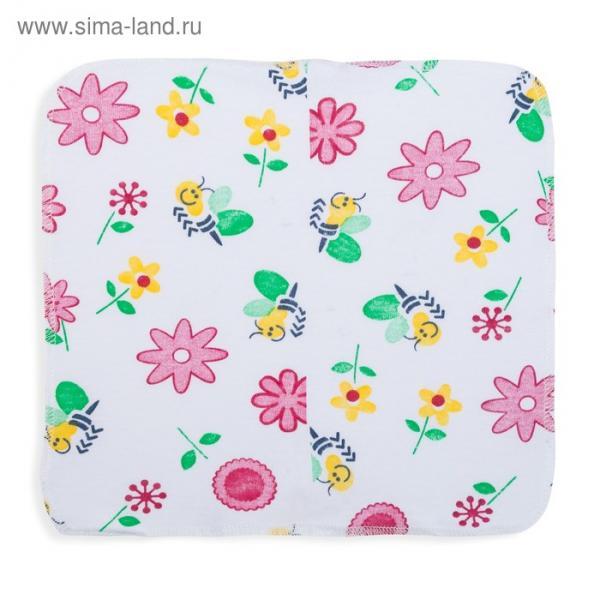 Комплект платочков (6 шт.), размер 20*20 см, цвет МИКС M000006K