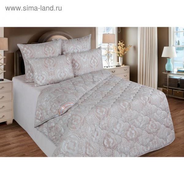 Одеяло станд. 220*205,ОМТ300-20, шерсть овечья,ткань тик, п/э