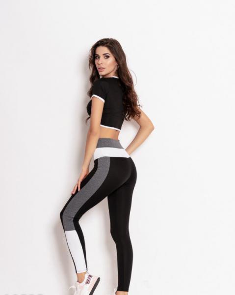 Фото  Спортивные костюмы ISSA PLUS 10525  M черный/серый
