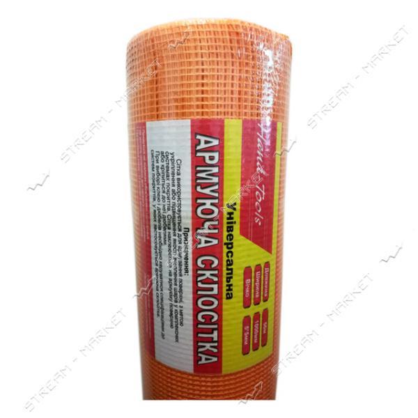 Сетка штукатурная фасадная Hand-Tools 5х5мм 45м оранжевая