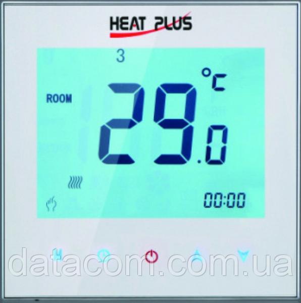 Терморегулятор HEAT PLUS iTeo4 (программируемый сенсорный) 24, Южная Корея, настенный, белый