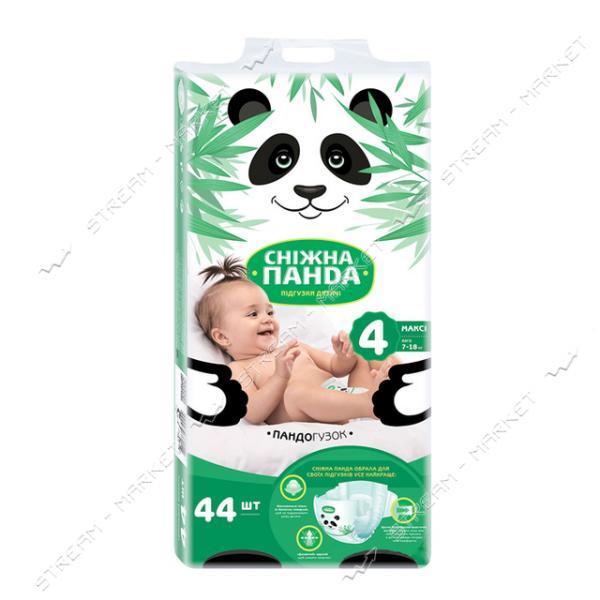 Подгузники детские Снежная панда Maxi 4 7-18 кг 44шт