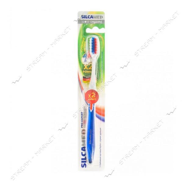 Зубная щетка Silca Dent Pro Expert средняя