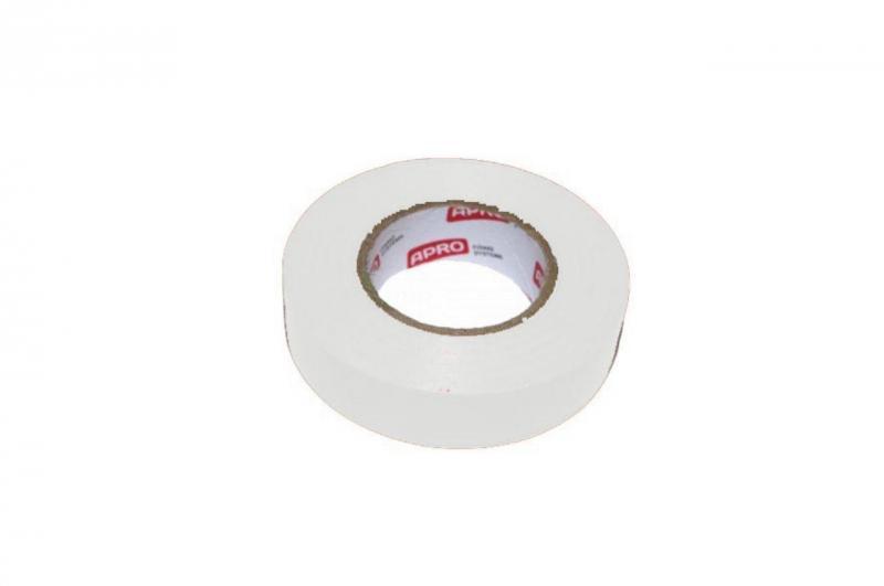 Изолента Apro - 10 м x 17 x 0,14 мм, белая