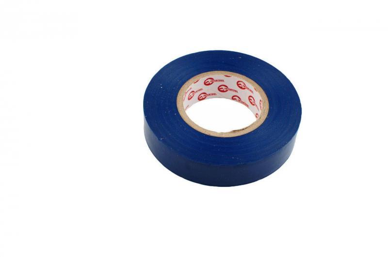 Изолента Intertool - 25 м, синяя